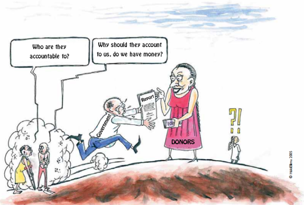 Cartoon adapted from HakiElimu, 2005