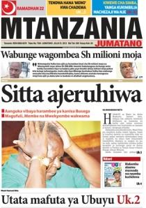 Mtanzania 31/7/2013